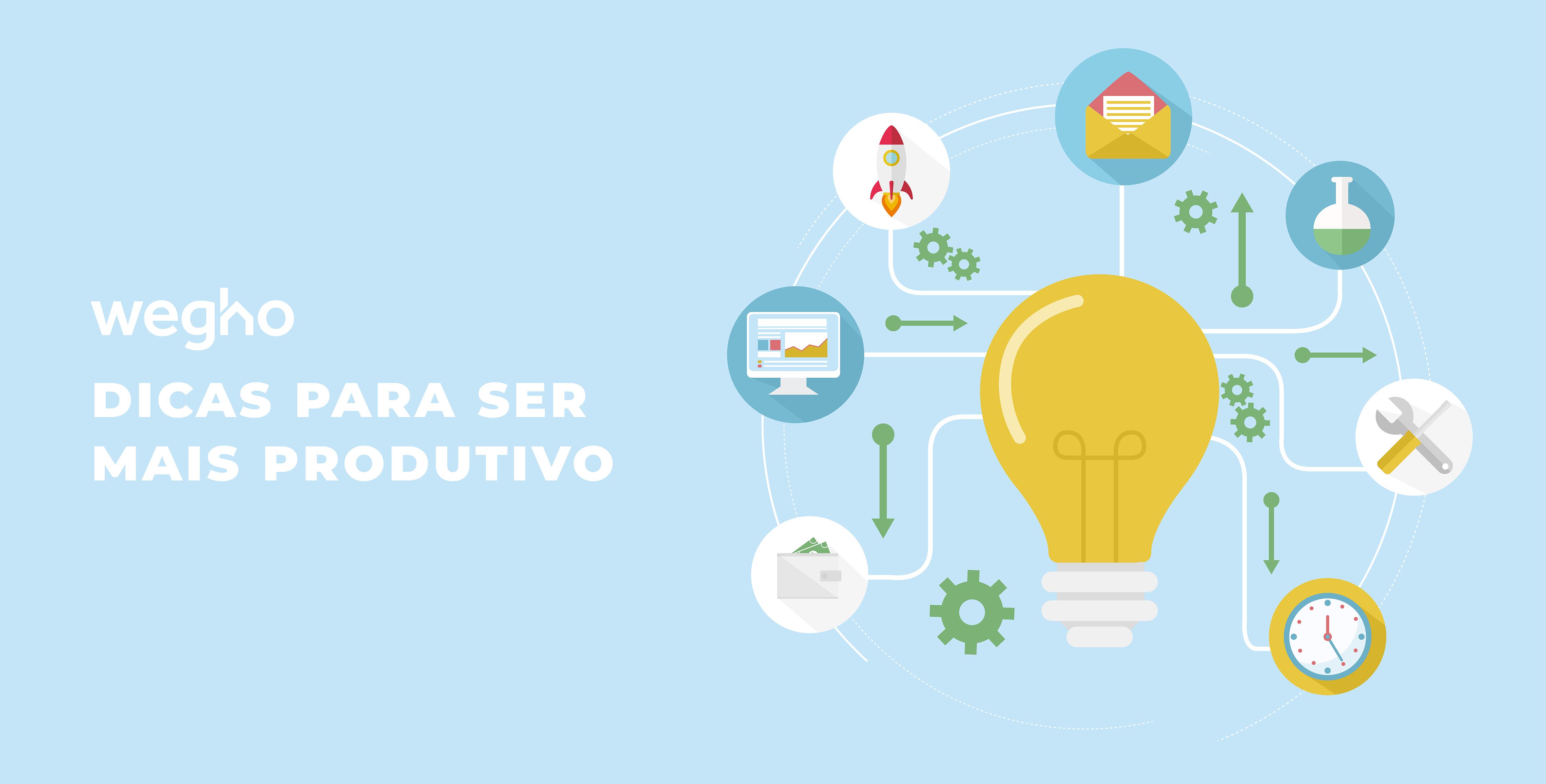 Produtividade - dicas para ser mais produtivo - gestão e organização - gestão de tempo