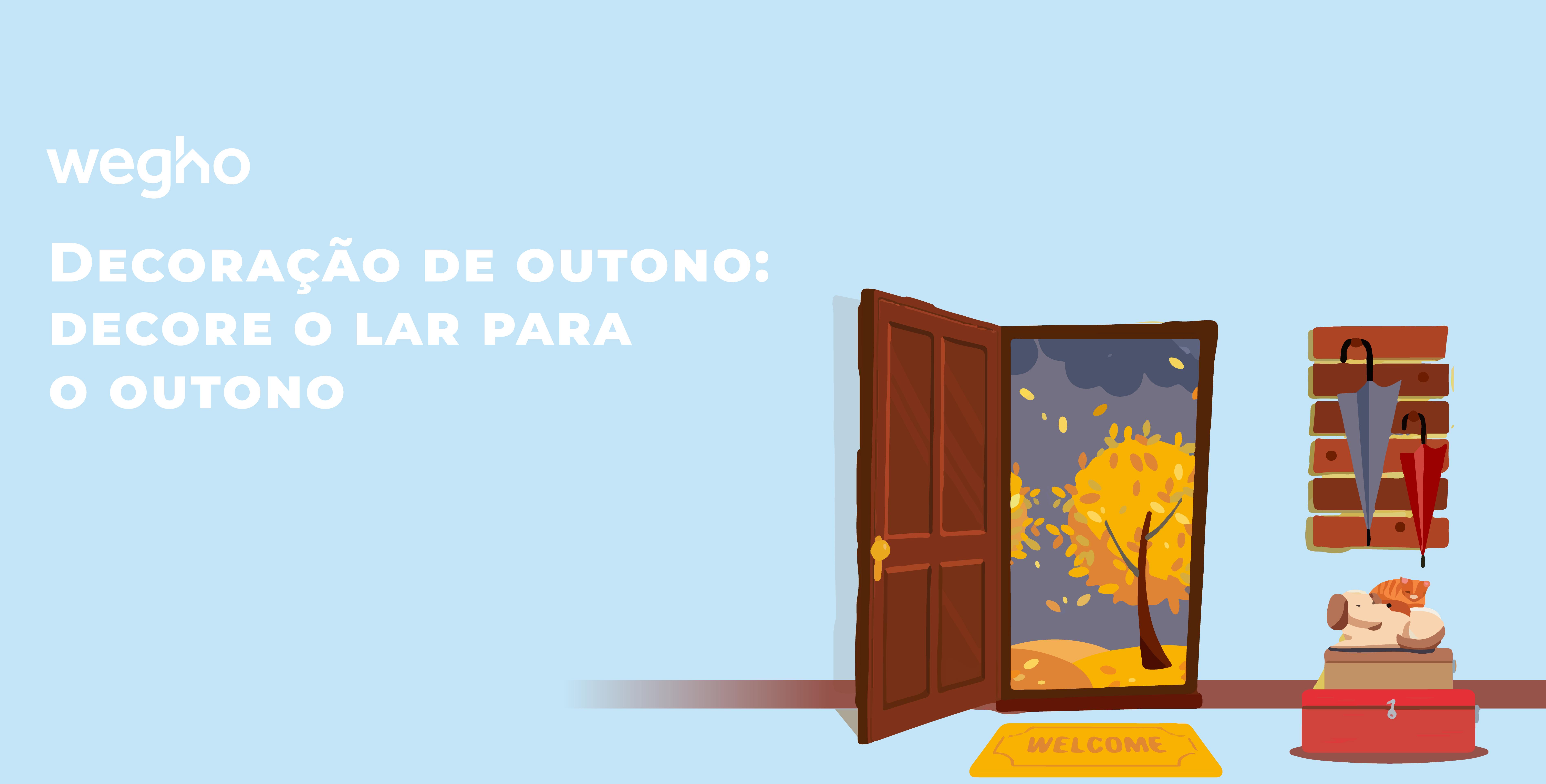 Decoração de outono - decore o lar para o outono - decor - decoração - decoração de outono - dicas de decoração - handyman - Wegho