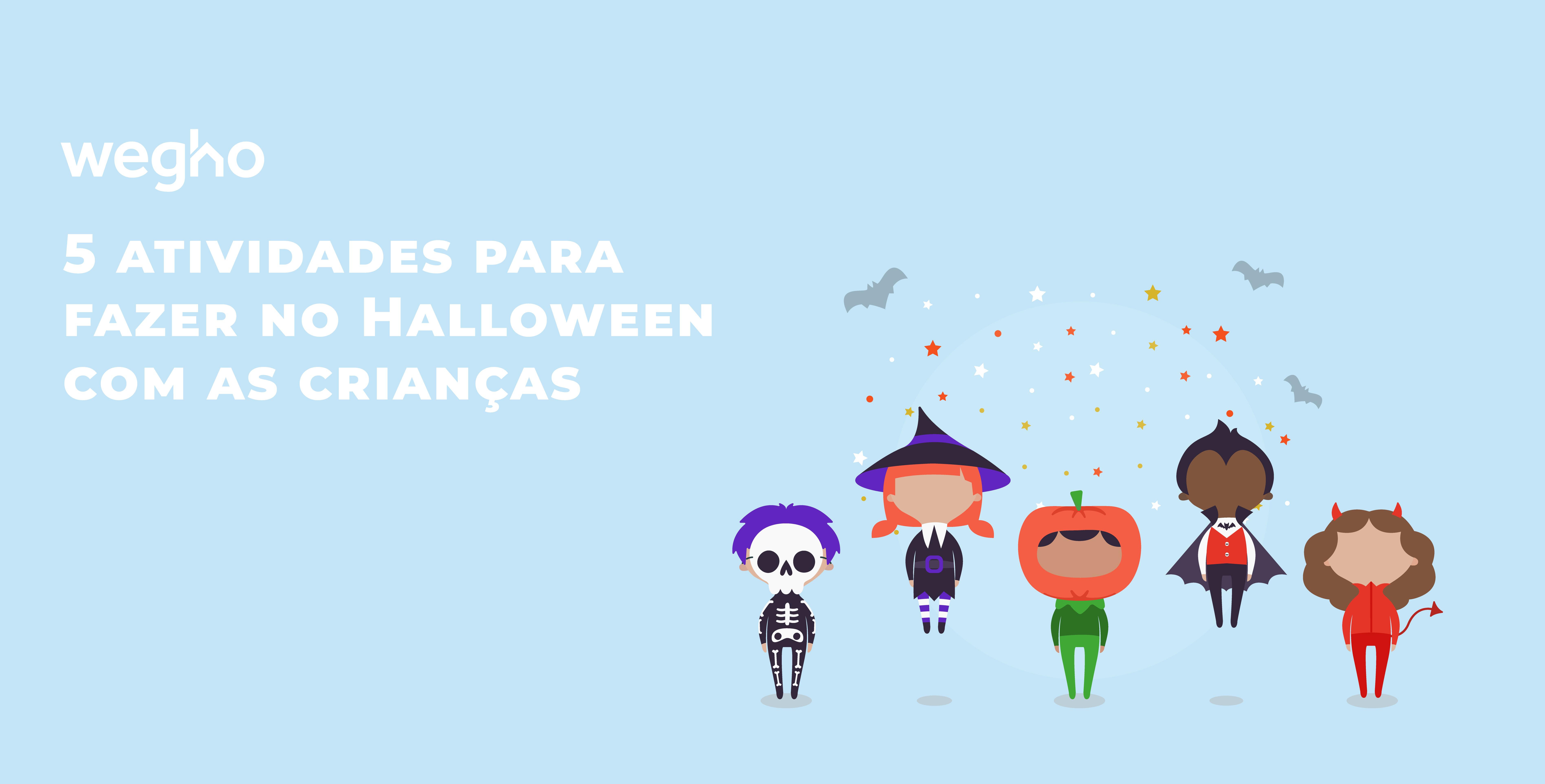 5 atividades para fazer no Halloween com as crianças - Wegho