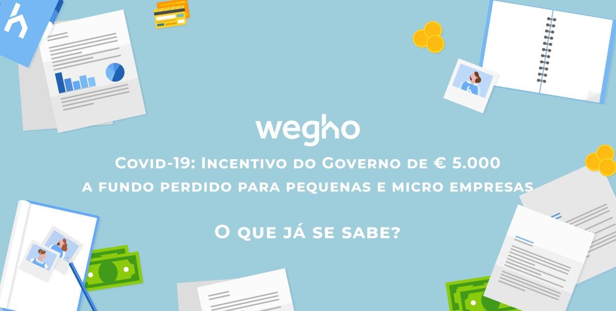 incentivo de € 5.000 a fundo perdido para Pequenas e Micro Empresas