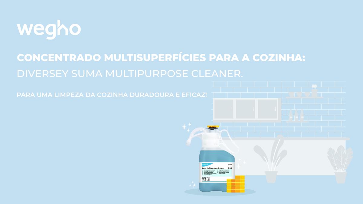 Concentrado Multisuperfícies Diversey Suma Multipurpose Cleaner D2.3 1.4L